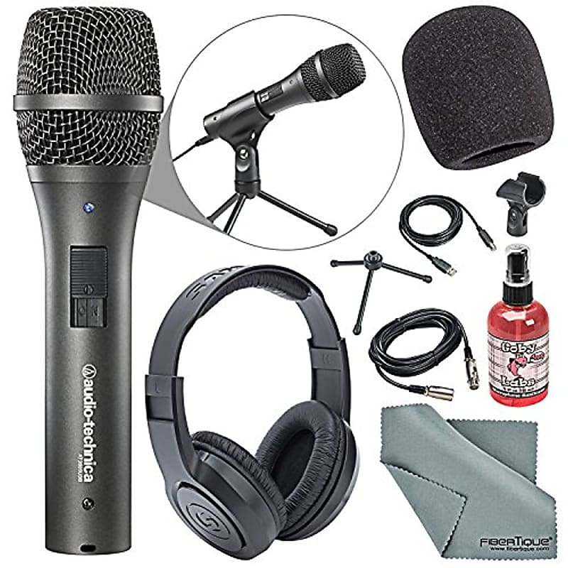 audio technica at2005usb dynamic microphone podcasting kit reverb. Black Bedroom Furniture Sets. Home Design Ideas