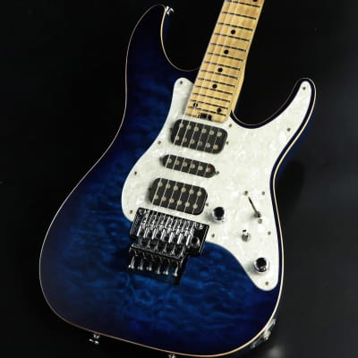 Schecter  SD-DX-24-AS Blue Sunburst -Free Shipping* image