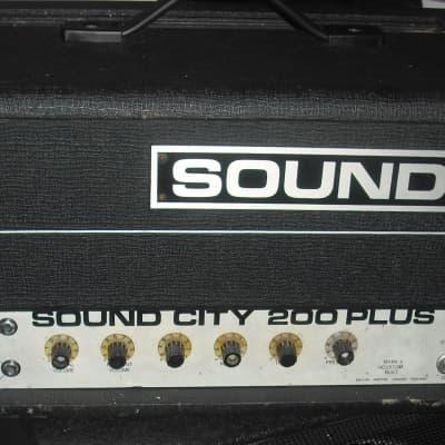 Sound City 200+ 70s vintage valve bass amplifier guitar amp kt88 SC200+ tube for sale
