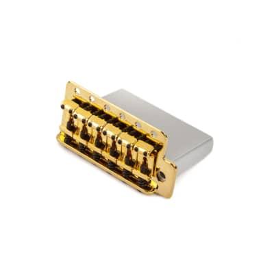 Fender Vintage-Style Strat Bridge Assembly Gold
