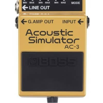 Boss AC-3 Acoustic Simulator Pedal Electric Guitar Effects Modeling Pedal AC3