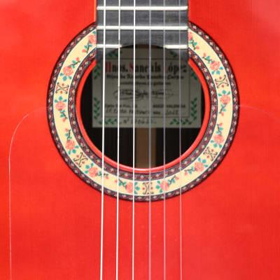 Hermanos Sanchis Lopez 1f Extra 2018, Rafael Cortes model ,flamenco guitar w/Hardcase for sale