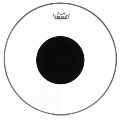 """Remo Controlled Sound Clear Drumhead, Top Black Dot 16"""""""