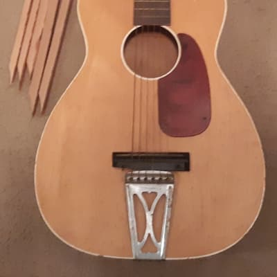 Vintage Airline Made in USA Acoustic Parlor Guitar for sale