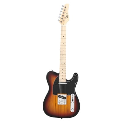 Glarry GTL Maple Fingerboard Electric Guitar Sunset for sale