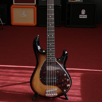 Ernie Ball Music Man StingRay Special 5 Electric Bass Guitar - Burnt Ends