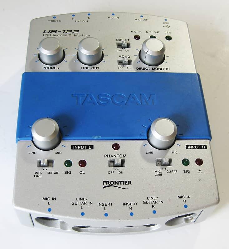 TASCAM US-122 USB Audio/MIDI Interface | Modulation Station | Reverb