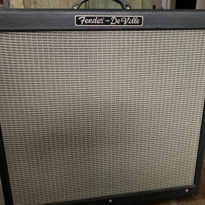 "Fender Hot Rod DeVille 3-Channel 60-Watt 4x10"" Guitar Combo 1999 Black"