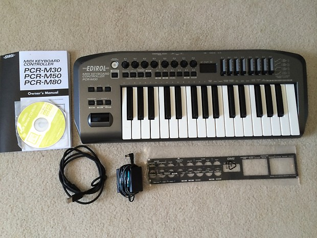 EDIROL MIDI KEYBOARD PCR M30 TREIBER WINDOWS 7