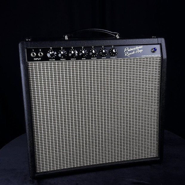 used louis electric princetone reverb guitar amplifier with reverb. Black Bedroom Furniture Sets. Home Design Ideas