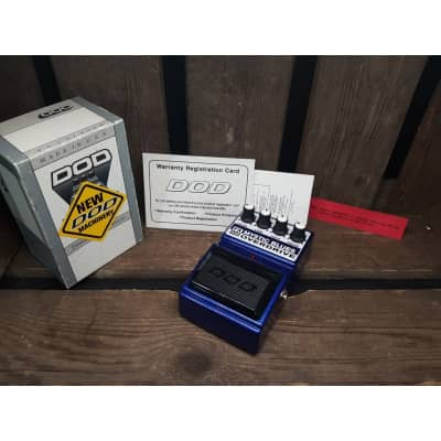 DOD Mystic Blues Overdrive (incl box / manual) for sale