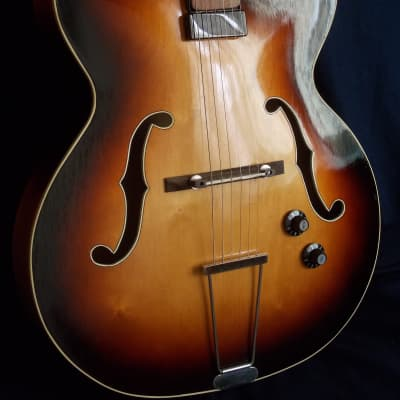 Wolfang T. Hüttl Archtop  (1956) for sale