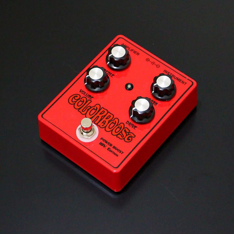 Handmade Bc109 Colorboost Power Boost 18v Gilmour Guitar