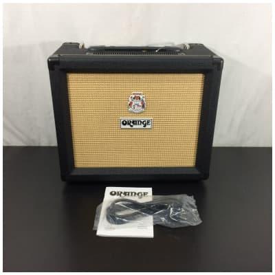 """Orange Rocker 15 1 x 10"""" Gold Label Speaker Black Combo Amplifier"""