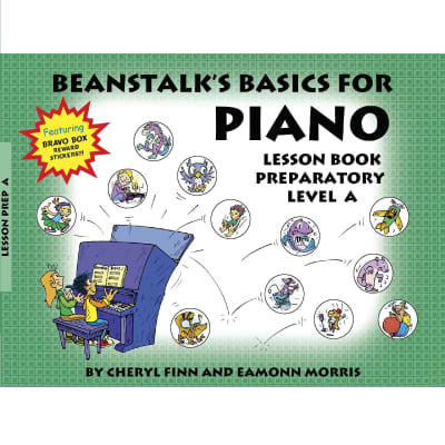 Beanstalk's Basics for Piano Lesson Book - Preparatory Level A