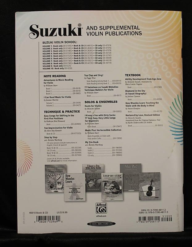 Suzuki Violin School, Volume 1 International Edition Instructional Violin  Method Book w/CD