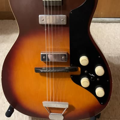 Harmony H-46 Stratotone Sunburst, Late 1950s - Early 1960s for sale