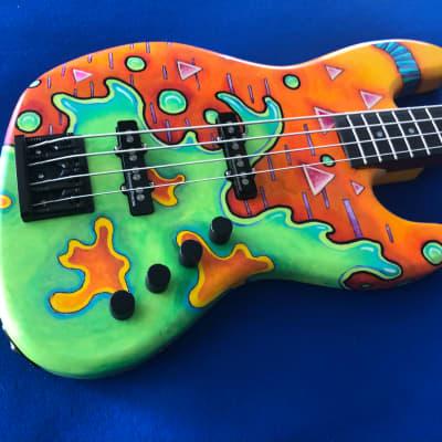 "Mucho Guitars ""Zen"" Jazz bass Aluminati collaboration for sale"