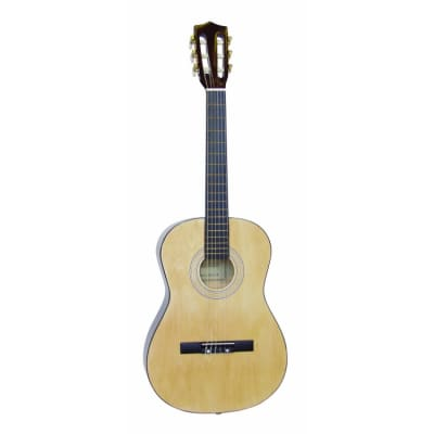 Dimavery AC-300 Konzertgitarre 3/4, natur for sale