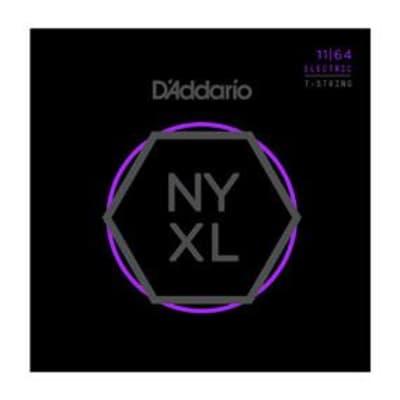 D'Addario NYXL Electric Guitar Medium 7 String