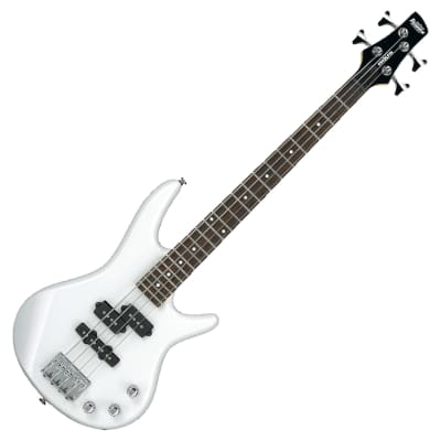 Ibanez GSRM20 PW Pearl White Mikro Compact 4-String Electric Bass Guitar