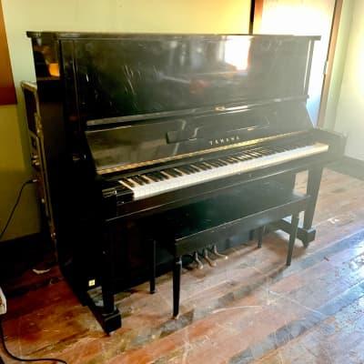 Yamaha U3 upright grand piano c 1967 Ebony original vintage japan mij u1 u2