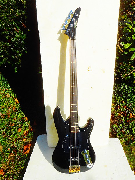 gibson epiphone jazz bass guitar 1993 black very clean reverb. Black Bedroom Furniture Sets. Home Design Ideas