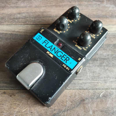 1980's Pearl FG-01 Flanger MIJ Japan Vintage Effects Pedal for sale