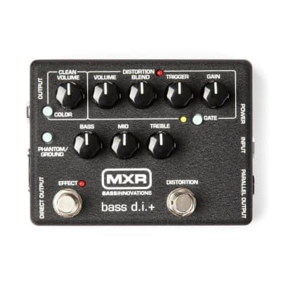 Caja de inyección para bajo MXR M-80 Bass D.I.+