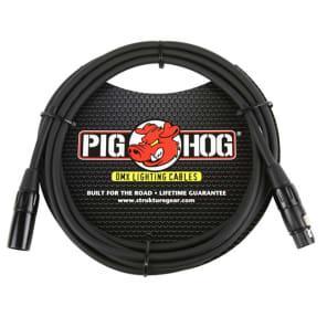 Pig Hog PHDMX10 DMX 3 pin lighting Cable, 10ft