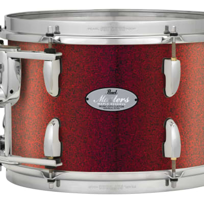 "Pearl Music City Custom Masters Maple Reserve 24""x14"" Bass Drum Red Glass"