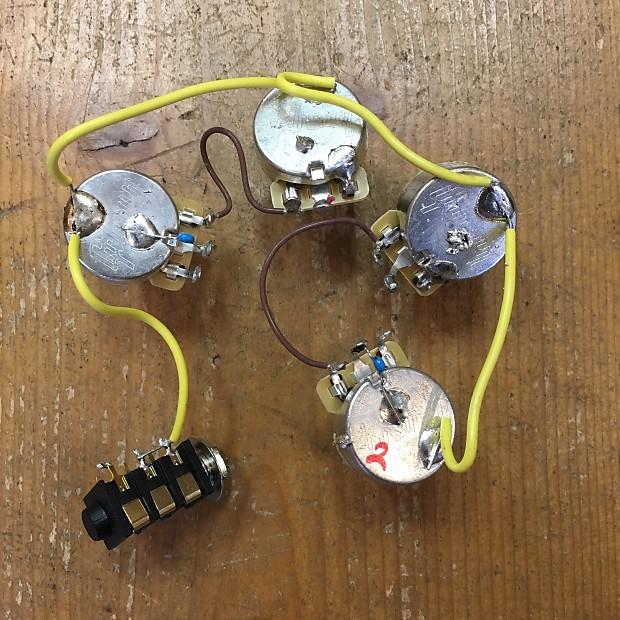 Gibson Firebird Wiring Harness 2017 | Reverb on gibson switch wiring, gibson es-335 wiring, gibson 50s wiring, gibson les paul wiring mods,