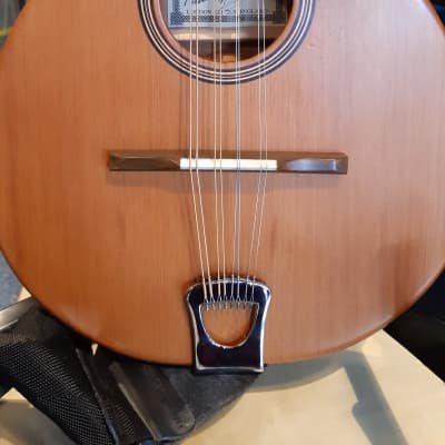 Hathway Paul Hathway All Solid nCeltic Mandolin with active pickup, Solid Cedar Top. Natural for sale