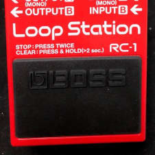 Boss RC-1 Loop Station Authorized Dealer!!