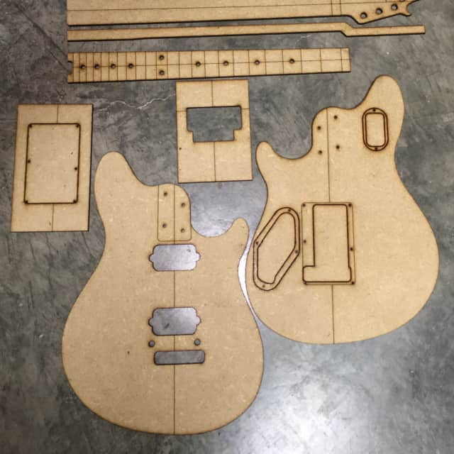 Guitar Building Templates Wolfgang Special 2017 image