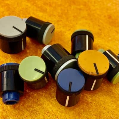 Yamaha  PM-1000 pm-2000 knobs c 1970's Rainbow original vintage mij japan