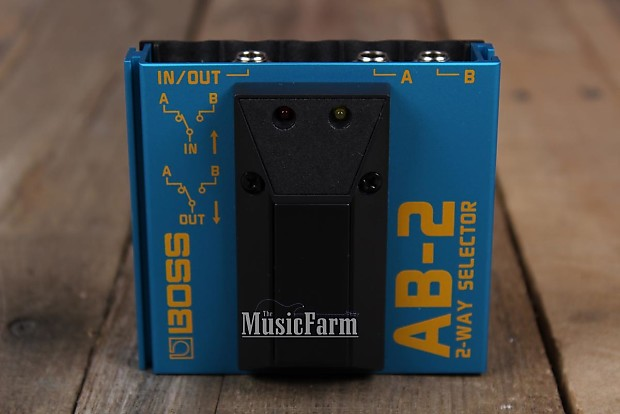 boss ab 2 2 way selector electric guitar pedal footswitch ab2 reverb. Black Bedroom Furniture Sets. Home Design Ideas