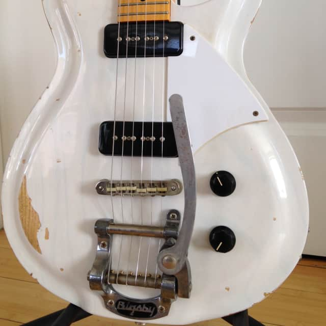 Fano RB6 with Bigsby 2014 Mary Kaye (Trans) image