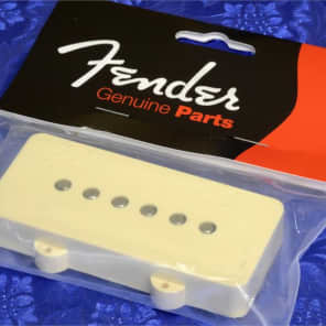 Genuine Fender USA Jazzmaster Bridge Pickup With Cover, Screws & More 0054443000