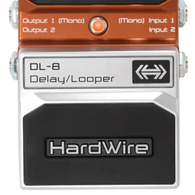 Digitech HardWire DL-8 Delay/Looper for sale