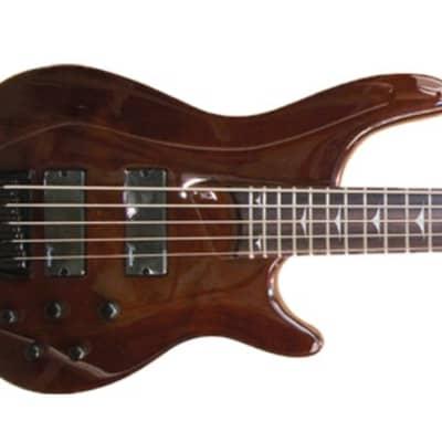 Tradition  B500  5 String Bass Guitar Walnut Gloss for sale