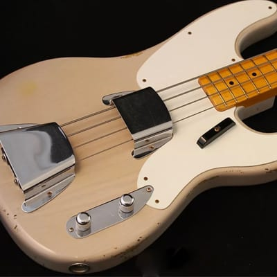 Fender Custom Shop Limited Edition '55 P Bass Dirty White Blonde for sale