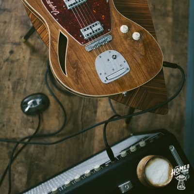 Jennings Guitars - Voyager Deluxe guitar w/Mastery & McNelly Pickups for sale