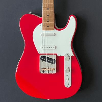 CP Thornton Classic II Hot Rod Series Guitar - Matador Red/Pure White for sale
