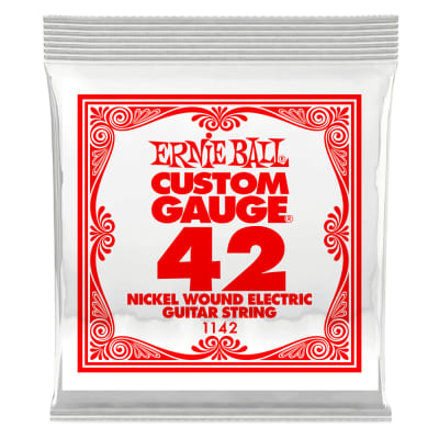 Ernie Ball Nickel Wound .042 Single String