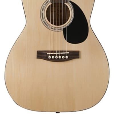 Jay Turser JJ43-PAK-N-A JT J Jr. 3/4 Acoustic Pack Natural New, Ships Free for sale