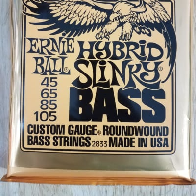 Ernie Ball 2833 Hybrid Slinky Electric Bass Strings