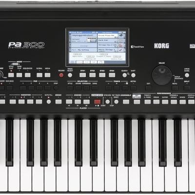 Korg PA300 Entertainer Keyboard, Pa300, 61 Tasten