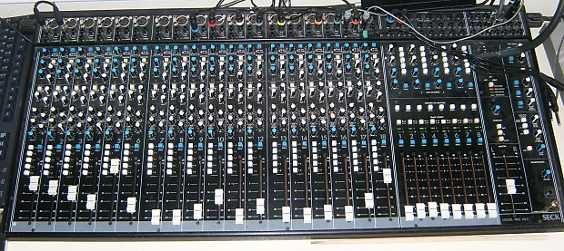seck 1882 mixing board console w orig box power supply reverb. Black Bedroom Furniture Sets. Home Design Ideas