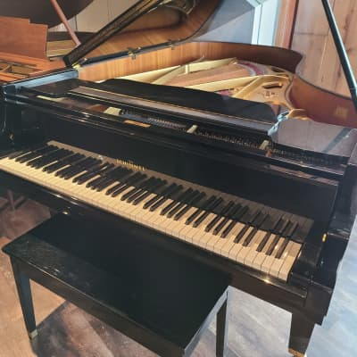 Schimmel Grand Piano 1977 With a Satin Black finish